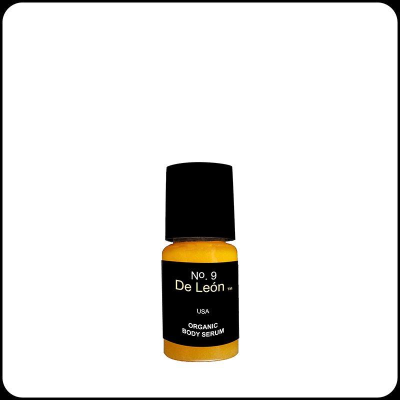 De Leon No 9 Organic Body Serum + Green Caffeine Sample
